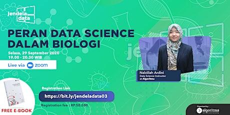 [WEBINAR] Peran Data Science dalam Biologi tickets
