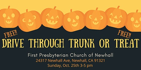 Drive Through Trunk or Treat tickets