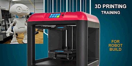 3D Printing Class - Design + Print + Build tickets