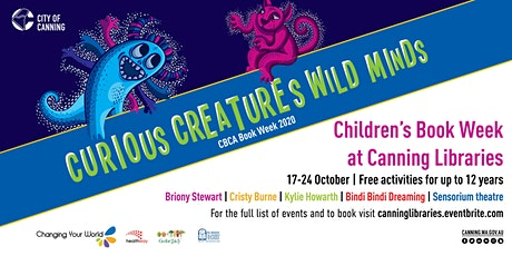 CBW 2020 - Kylie Howarth Illustration workshops - Families -  Session 1 tickets