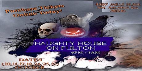 Haughty House on Fulton tickets