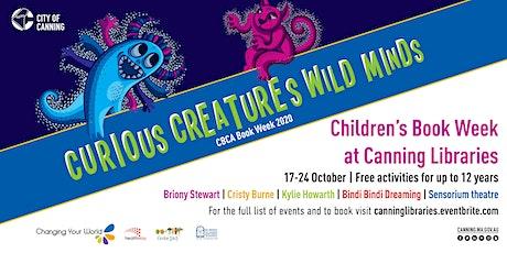 CBW 2020 - Cristy Burne - Children's Author talk and Q&A tickets