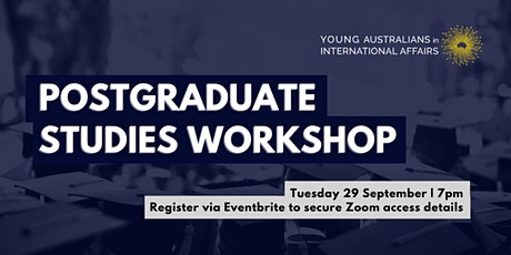 YAIA Postgraduate Studies Workshop tickets