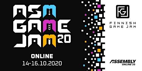 ASM Game Jam '20 tickets