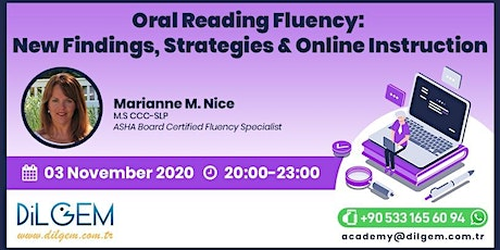 Oral Reading Fluency: New Findings, Strategies & Online Instruction tickets