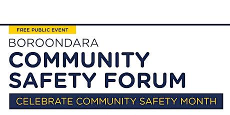 Community Safety Forum tickets