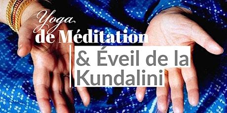 Yoga de Méditation et éveil de la Kundalini billets