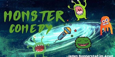 Monster Comedy Berlin (im Acud) 29.10.20 Tickets