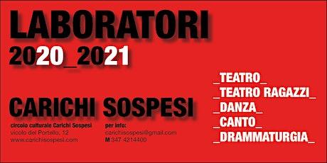 PRESENTAZIONE DEI CORSI 2020/2021 biglietti