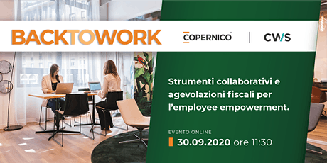 BACK TO WORK | Employee Empowerment biglietti