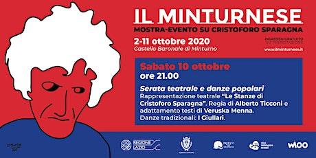 Il Minturnese - Serata teatrale e danze popolari biglietti