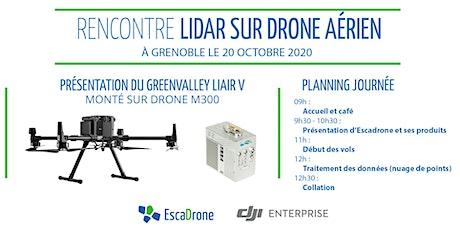 Démonstration Lidar sur drone professionnel Matrice 300 RTK à Grenoble billets
