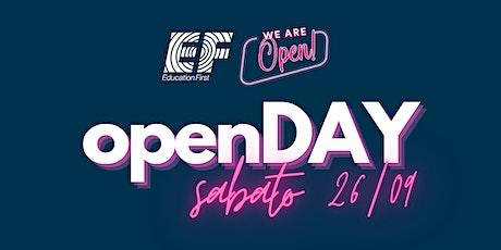 EF - We are Open! biglietti