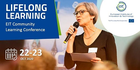 EIT Community Lifelong Learning Conference, 22-23 Oct. 2020 tickets