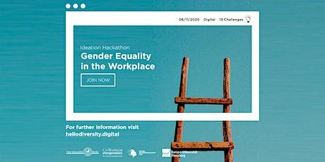 Hello Diversity! Digital Hackathon - Gender Equality in the Workplace entradas