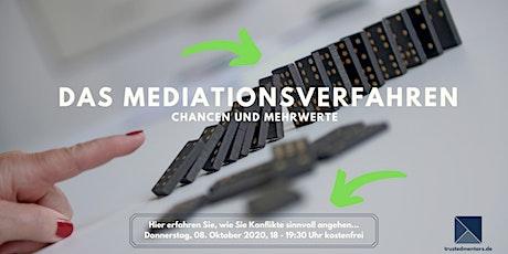 Das Mediationsverfahren – Chancen und Mehrwerte Tickets