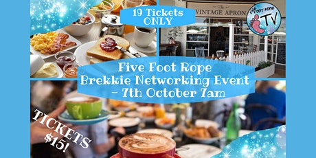 Five Foot Rope Brekkie Networking Event - October tickets