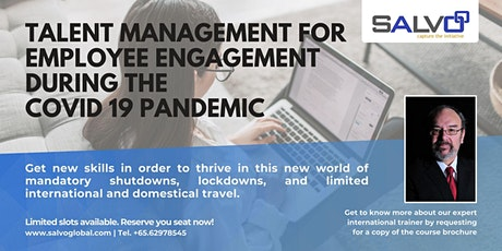 Talent Management For Employee Engagement During The Covid-19 Pandemic tickets