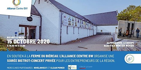Concert  Bistrot 21h00 au profit de LA FERME du Biéreau tickets