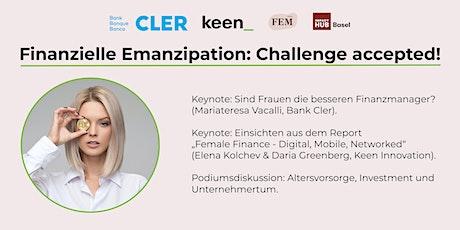 Finanzielle Emanzipation: Challenge accepted! (Teilnahme vor Ort) Tickets