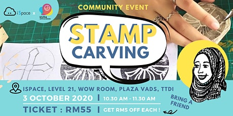 Stamp Carving Community Class tickets