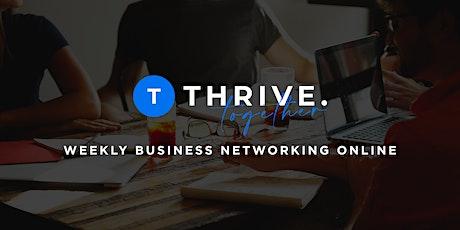 Thrive Online Networking tickets