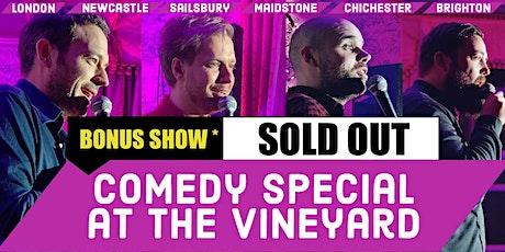 Super Funny Comedy at the Vineyard Bonus Show tickets