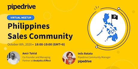 Webinar: Philippines Sales Community Virtual Meetup tickets
