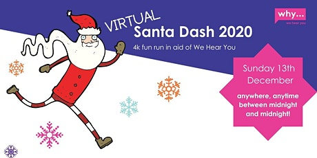 Virtual Santa Dash 2020 tickets