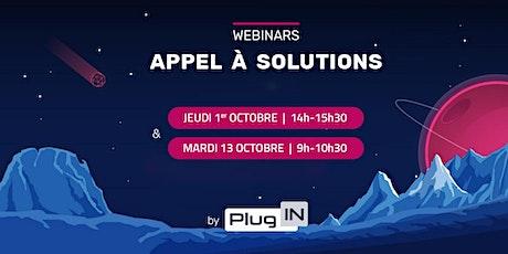 Appel à solutions #1 | Plug IN billets