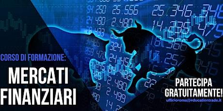 Webinar sui Mercati Finanziari biglietti