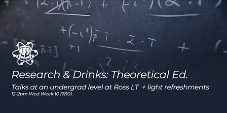UPS Research & Drinks: Theoretical Edition tickets