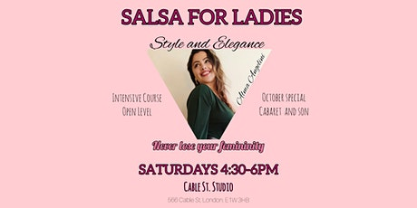 "Salsa for Ladies ""Style and Elegance"" tickets"