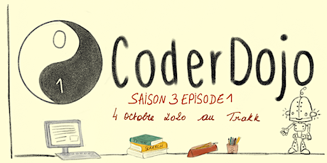 CoderDojo Namur - 04/10/2020 - Saison 3, Episode 1 tickets