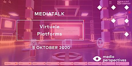 MediaTalk 8 oktober - Virtual Live Events tickets