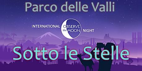 Evento gratuito di osservazione dei pianeti al parco delle Valli biglietti
