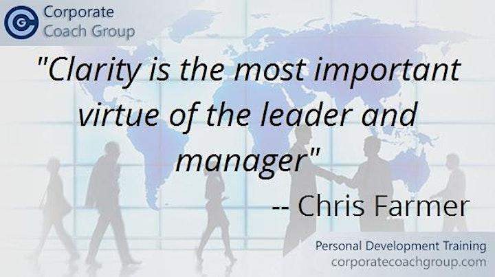 Management Development Programme (2 day course Manchester City) image