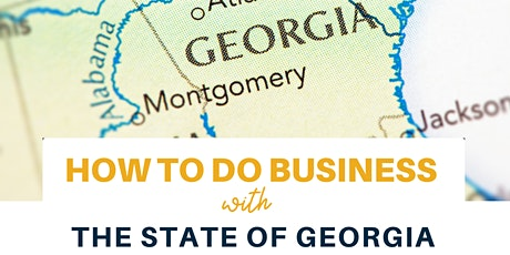 How to do Business with the State of Georgia tickets
