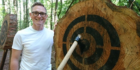 Axe throwing, Sat 26 September 10 - 11.15am, Bridgend County residents only tickets