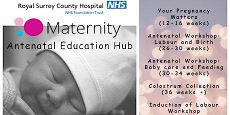 Royal Surrey Antenatal Education Hub: Parents Due May 2021