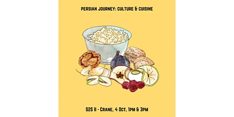 Persian Journey: Cuisine & Culture - A Seed to Soul Workshop tickets