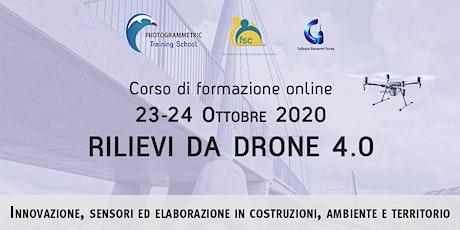 Rilievi da drone 4.0 - Costruzioni Ambiente e Territorio biglietti