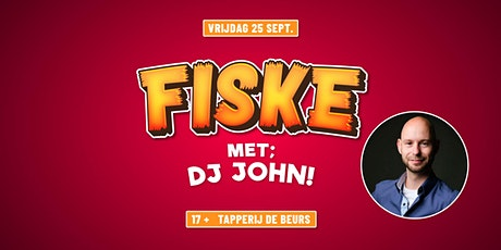 Fiske met DJ John!   Beurs tickets