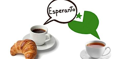 L'espéranto avec café-croissants pour tous / for all ! [Eo-Fr-En] billets
