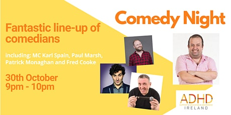 Comedy Night brought to you by ADHD Ireland tickets