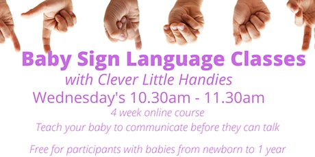 Baby Sign Language Class tickets