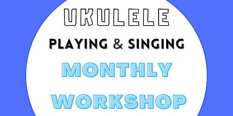 Ukulele Playing & Singing Workshop, Wednesday 8pm tickets