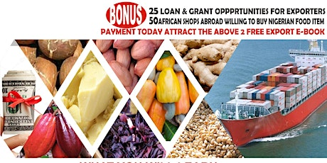 Agro Commodities Export Master Class tickets