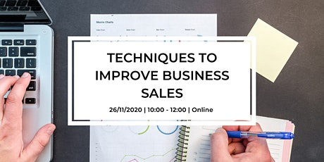 Techniques to Improve Business Sales tickets