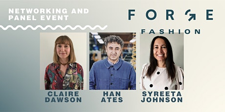 Forge Fashion Event 1: Sustainable Manufacturing, Recycling and Repair tickets